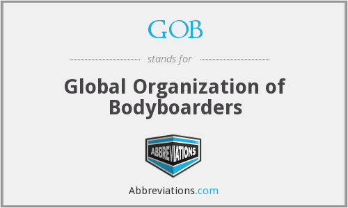 GOB - Global Organization of Bodyboarders