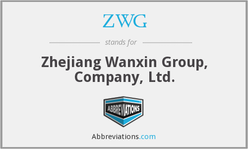 What does ZWG stand for?