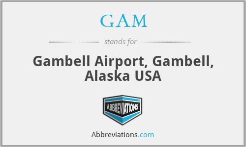 GAM - Gambell Airport, Gambell, Alaska USA
