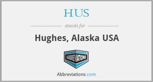 HUS - Hughes, Alaska USA
