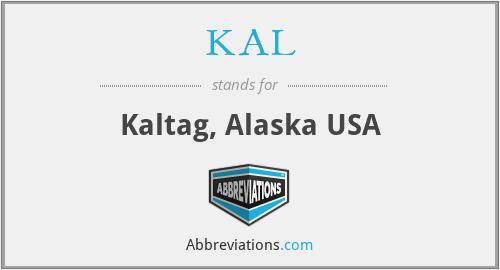 KAL - Kaltag, Alaska USA