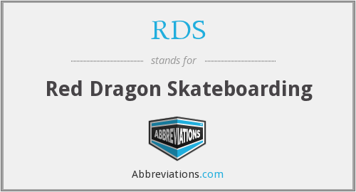 RDS - Red Dragon Skateboarding