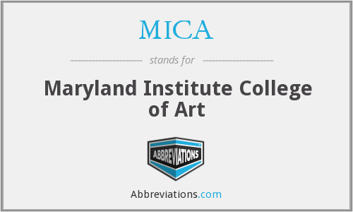 MICA - Maryland Institute College of Art
