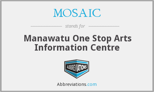 MOSAIC - Manawatu One Stop Arts Information Centre