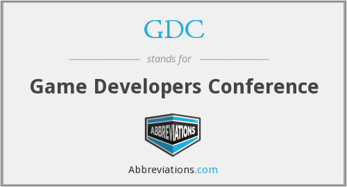 What does GDC stand for?