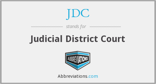 What does JDC stand for?