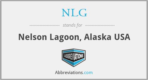 NLG - Nelson Lagoon, Alaska USA