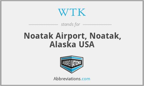WTK - Noatak Airport, Noatak, Alaska USA