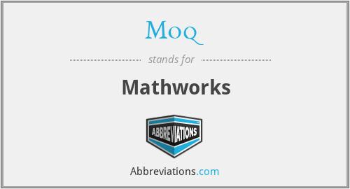 Moq - Mathworks