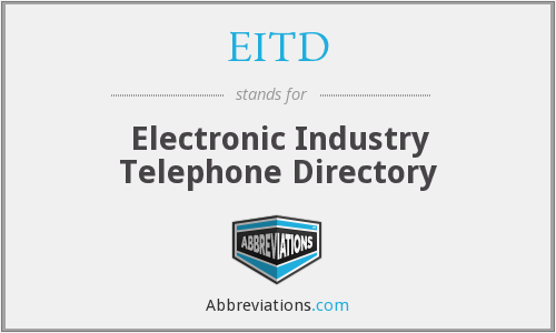 EITD - Electronic Industry Telephone Directory