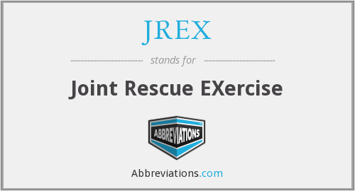 JREX - Joint Rescue EXercise