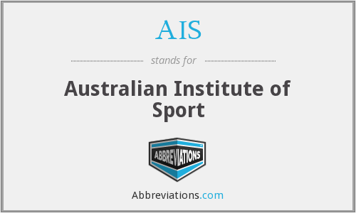 AIS - Australian Institute of Sport