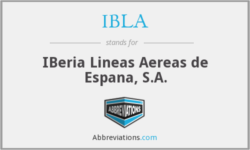 What does IBLA stand for?