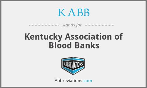 KABB - Kentucky Association of Blood Banks