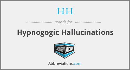 HH - Hypnogogic Hallucinations
