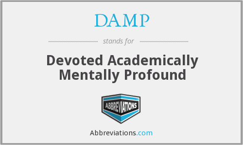 What does DAMP stand for?