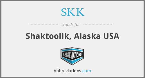 What does SKK stand for?