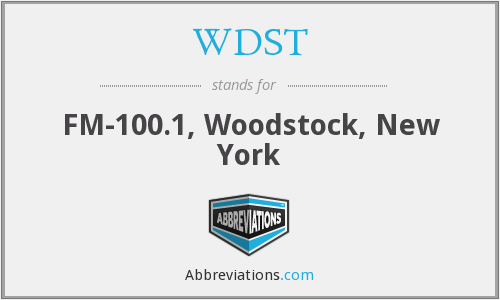 What does WDST stand for?
