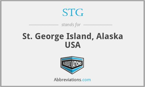 STG - St. George Island, Alaska USA