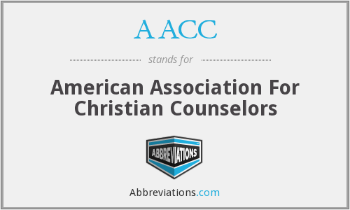 AACC - American Association For Christian Counselors