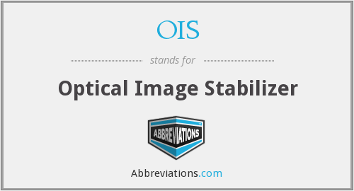 OIS - Optical Image Stabilizer