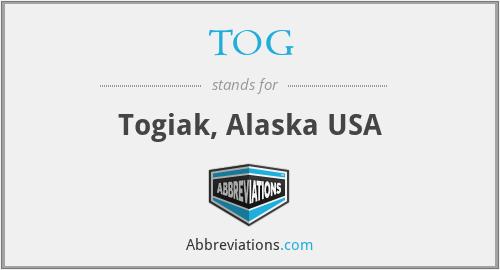 TOG - Togiak, Alaska USA