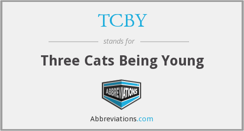 TCBY - Three Cats Being Young