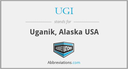 UGI - Uganik, Alaska USA