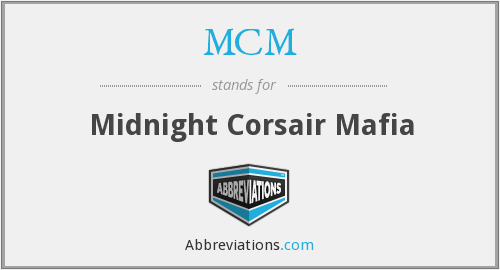 MCM - Midnight Corsair Mafia