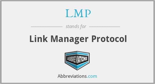 LMP - Link Manager Protocol