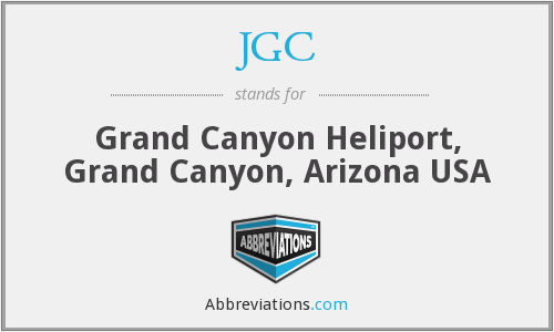 JGC - Grand Canyon Heliport, Grand Canyon, Arizona USA