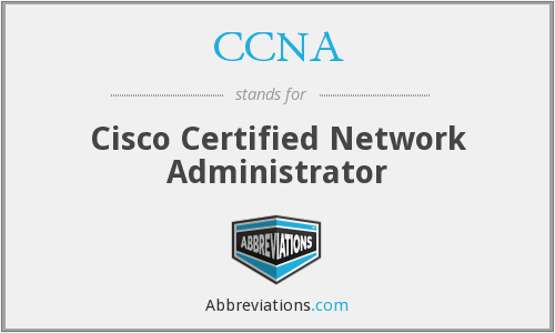 CCNA - Cisco Certified Network Administrator