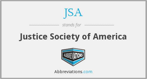 JSA - Justice Society of America