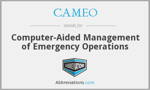CAMEO - Computer-Aided Management of Emergency Operations