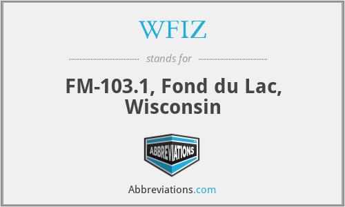 WFIZ - FM-103.1, Fond du Lac, Wisconsin