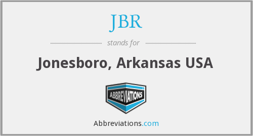 What does JBR stand for?