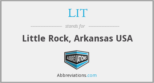 LIT - Little Rock, Arkansas USA