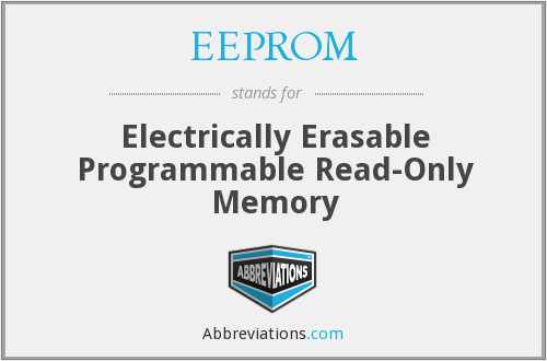 What does EEPROM stand for?
