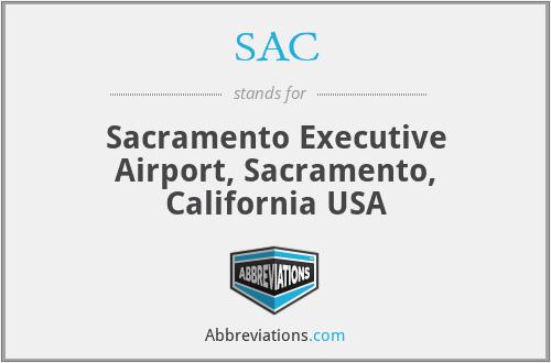 SAC - Sacramento Executive Airport, Sacramento, California USA