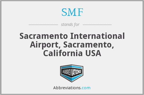 SMF - Sacramento International Airport, Sacramento, California USA