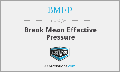 What does BMEP stand for?