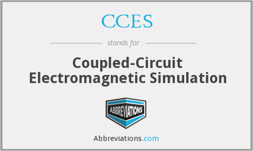 CCES - Coupled-Circuit Electromagnetic Simulation