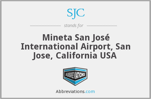 SJC - Mineta San José International Airport, San Jose, California USA
