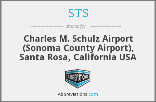 STS - Charles M. Schulz Airport (Sonoma County Airport), Santa Rosa, California USA