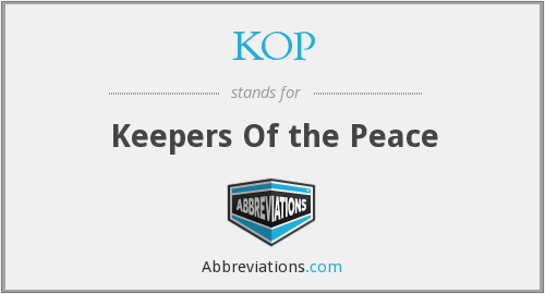 KOP - Keepers Of the Peace