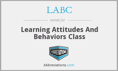 LABC - Learning Attitudes And Behaviors Class