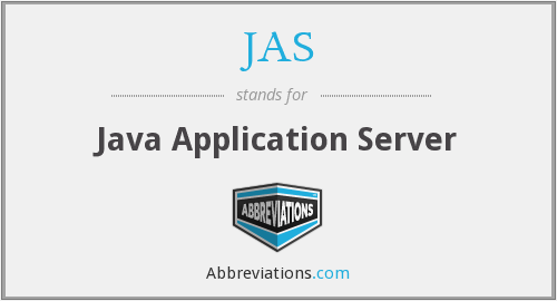 JAS - Java Application Server