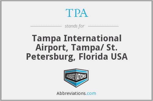 TPA - Tampa International Airport, Tampa/ St. Petersburg, Florida USA
