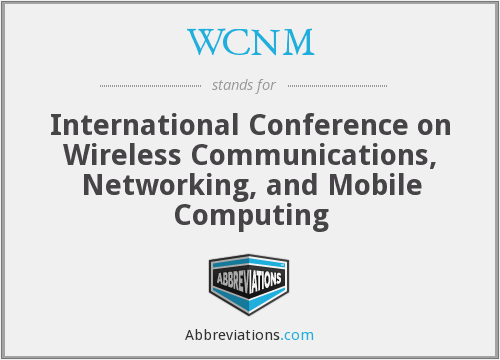 What does WCNM stand for?