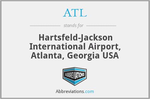 ATL - Hartsfeld-Jackson International Airport, Atlanta, Georgia USA